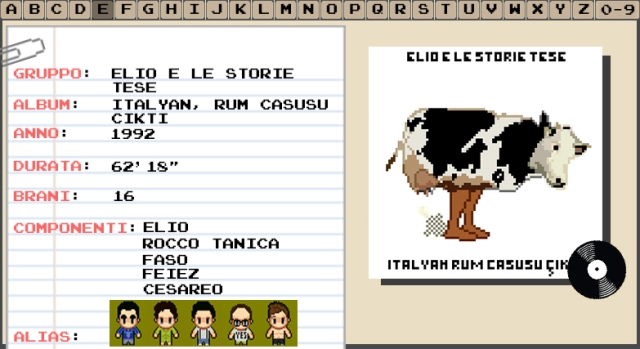 Elio E Le Storie Tese - Italyan, Rum Casusu Çikti