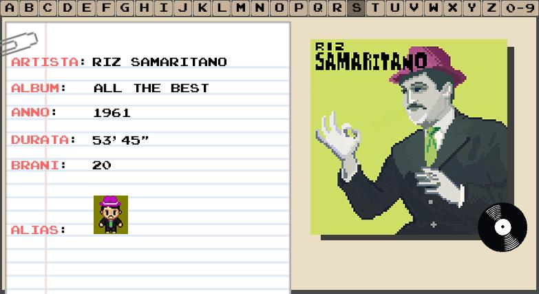 Riz Samaritano - All The Best